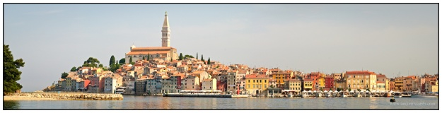 Rovinj of Croatia