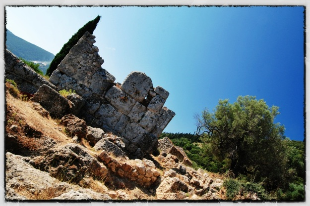 The Castle of Odysseus on Ithaka